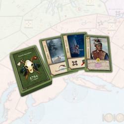 1754, Alliés Amérindiens...