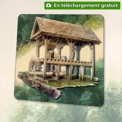 Guédelon le jeu : le Moulin
